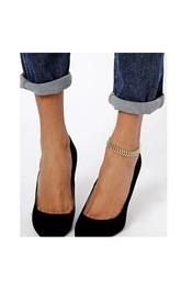 Western Style Fashion Summer Fish Bone Style Anklet 27??Cm