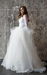 Wedding Lace Wedding Long Sleevs Wedding Vera Dress