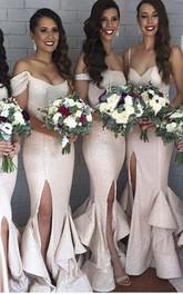 Mermaid Floor-length Chiffon Dress with Ruffles