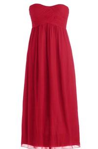 Strapless Bridal Dress With Basque Waist